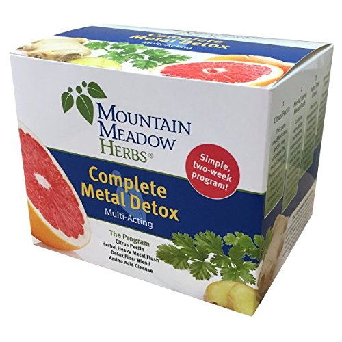 (Complete Metal Detox - A simple, multi-acting, two-week program made up of four naturally effective products.)