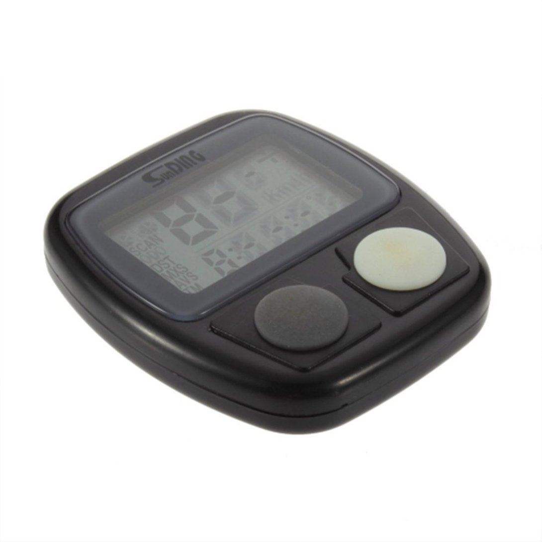 Swiftswan Bicycle Meter Speedometer Bike Digital LCD Cycling Computer LCD Odometer Speedometer Stopwatch For Bike SD-548B