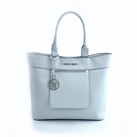 ab3754f6ebd9 Armani Jeans Shopping bag woman Pvc Plastic white  Amazon.co.uk  Luggage