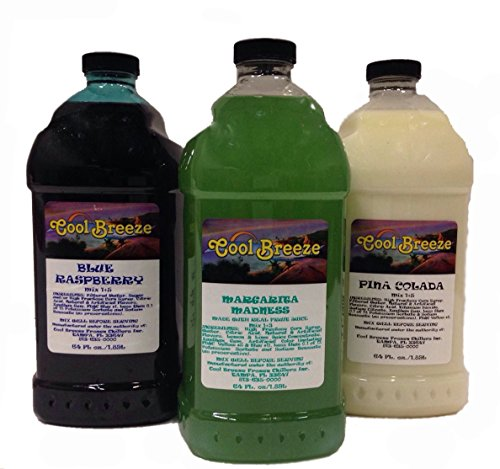 Margarita Frozen Drink Machine Granita Slush Mix (Pick Your 3 Flavors) - Margarita Machine Mix
