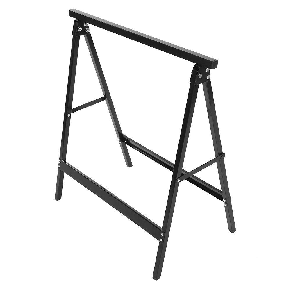 Cocoarm 2 x Ger/üstbock Klappbock Stahlbock Set Falt-Arbeitsbock Klappbares Unterstellbock Paar aus Metall bis 100 kg Tragkraft