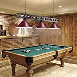 Wellmet 59'' Hanging Pool Table Light Fixture for