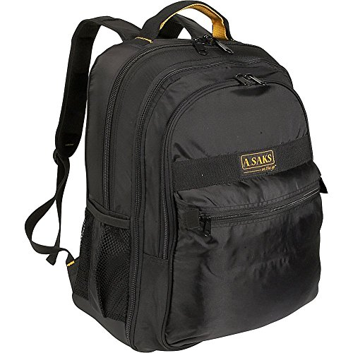 (A. Saks EXPANDABLE Laptop Backpack -)