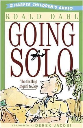 Amazon Going Solo Audible Audio Edition Roald Dahl Derek