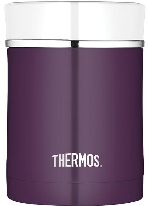 11 opinioni per Thermos 4005.205.047alimenti Premium, 0,47l, Acciaio INOX, viola, 9,7x9,7x13,5
