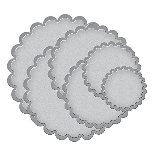 Classic Scallop Circle - Spellbinders S4-124 Nestabilities Classic Scalloped Circles LG Etched/Wafer Thin Dies