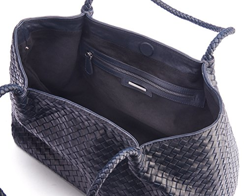 SageBrown Slouchy Cassidy Navy Bag Woven wnwqfArTz