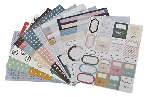 SiCoHome Scrapbooking Decorative 6 6x4 5inch scrapbooking