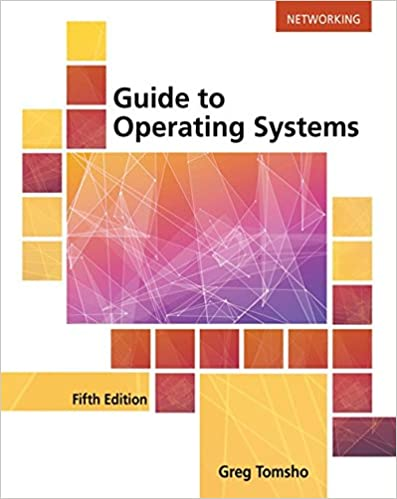 Amazon Guide To Operating Systems 9781305107649 Greg Tomsho
