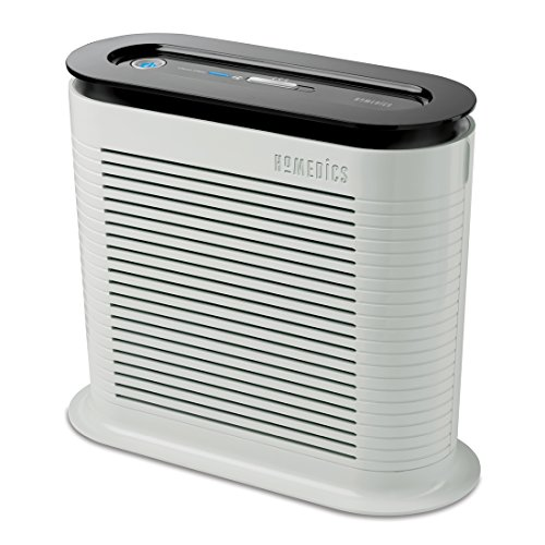 HoMedics HEPA Air Purifier Fan, Keeps Air Fresh, Protects from Allergy...