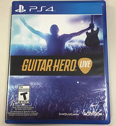 Guitar Hero Live Game Only (PS4) - Pre-Owned (Renewed)