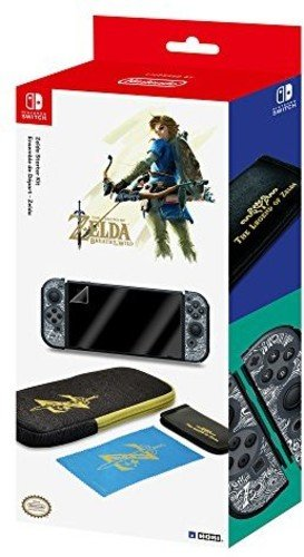 HORI Zelda Breath of the Wild Starter Kit for Nintendo Switch Officially License