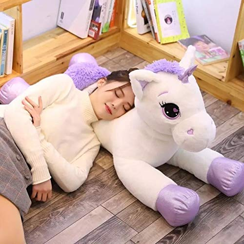 60Cm 110Cm Plush Toys Cute Pink Purple Flying Horse Soft Stuffed Doll Animal Big Cushion For Cushion Birthday Gift Girl Must-Have Friendship Gifts Toddler Favourite Superhero Stickers Baby Boy Must