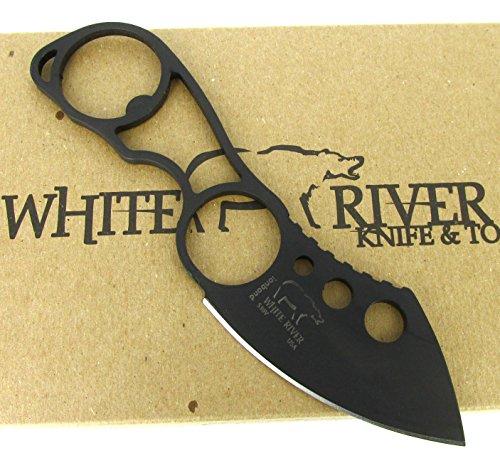 White River Knife & Tool Knucklehead Knife Black Ionbond CPM S30V WRKNU-CBI