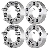 """ECCPP Wheel Spacers Adapters 4PCS 5 Lug 1.5""""(38mm) Thick 5x4.5"""" / 5x114.3 for Lincoln MKX Jeep Liberty Mercury Grand Marquis Mountaineer Cougar XLT Ford Mustang XLT&More with 1/2""""x20 STUDS"""