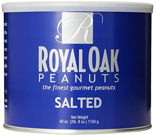 Royal Oak Gourmet Virginia Salted Peanuts, 40-Ounce Tins (Pack of (Gourmet Virginia Peanuts)