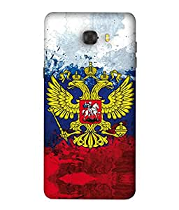 ColorKing Football Russia 29 Multicolor shell case cover for Samsung C9 Pro