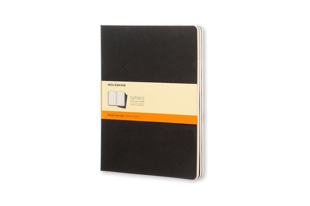 Moleskine Cahiers Plain Journals: Light Warm Grey, Extra Large Moleskine Srl CH323 Handicrafts Arts & Crafts