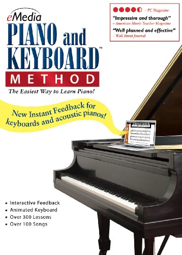 eMedia Piano and Keyboard Method v3 [PC Download]