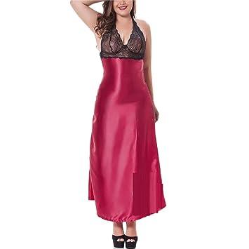 Pijama sexy - Simulación de pijama de encaje sexy grande Falda ...