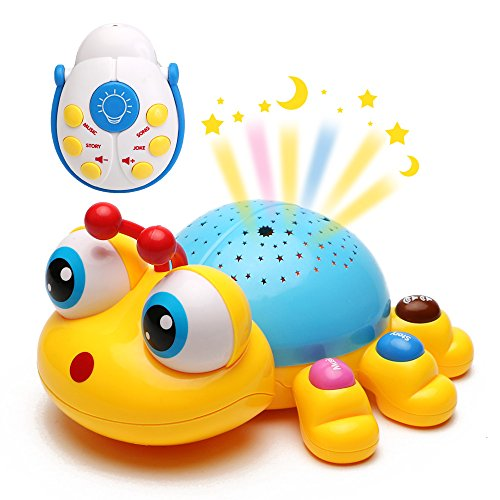 Wish Twilight Constellation Night Light for Toddlers Starry - Insect Music