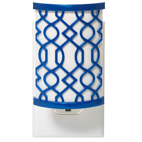 Yankee Candle Indigo Fretwork Scent-Plug Air Freshener Base