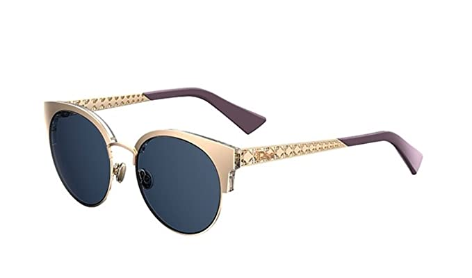 44534cf06f Image Unavailable. Image not available for. Color  New Christian Dior  Diorama Mini DDB KU Light Gold Blue Sunglasses