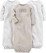 Simple Joys by Carter's Baby Girls' 3-Pack Cotton Slee