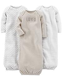 Simple Joys by Carter's Baby - Juego de 3 Sacos de Dormir de algodón