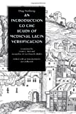 An Introduction to the Study of Medieval Latin Versification, Norberg, Dag Ludvig, 0813213363