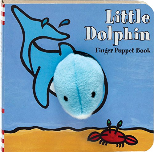 Little Dolphin: Finger Puppet Book (Little Finger Puppet Board Books)