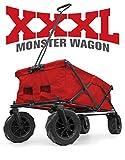 Creative Outdoor XXXL Monster Folding Wagon (Red), 56