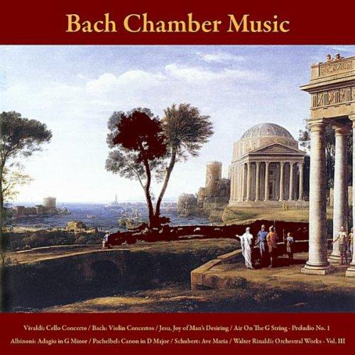 Vivaldi: Cello Concerto / Bach: Violin Concertos - Jesu, Joy of Man's Desiring - Air On The G String - Prelude No. 1 / Albinoni: Adagio in G Minor / Pachelbel: Canon in D Major / Schubert: Ave Maria / Walter Rinaldi: Orchestral Works, Vol. III