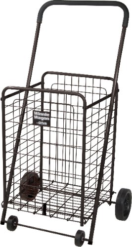 Black Winnie Wagon All Purpose Shopping Utility Cart 1 pcs sku# 477794MA by WMU