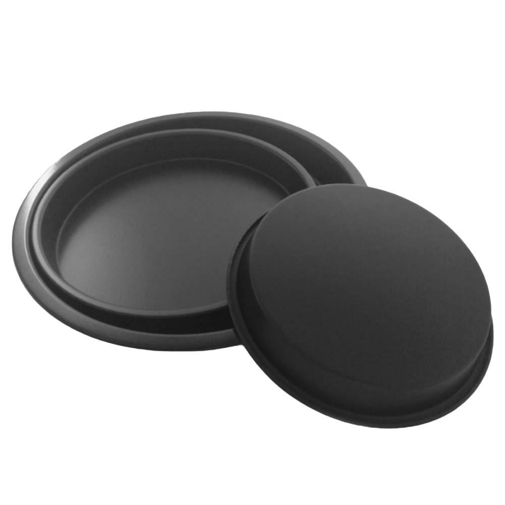 eroute66 Cake Mold Baking Non-stick Pizza Pan Tray Dish Plate Tool Kitchen Gadget Decoration 3Pcs 3pcs