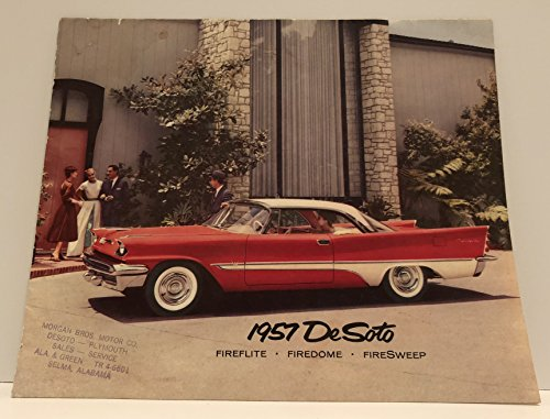 1957 Desoto: Fireflite, Firedome, Firesweep (Sales Brochure)