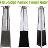 3-Sided Pyramid Flame Heater Parts Replacement