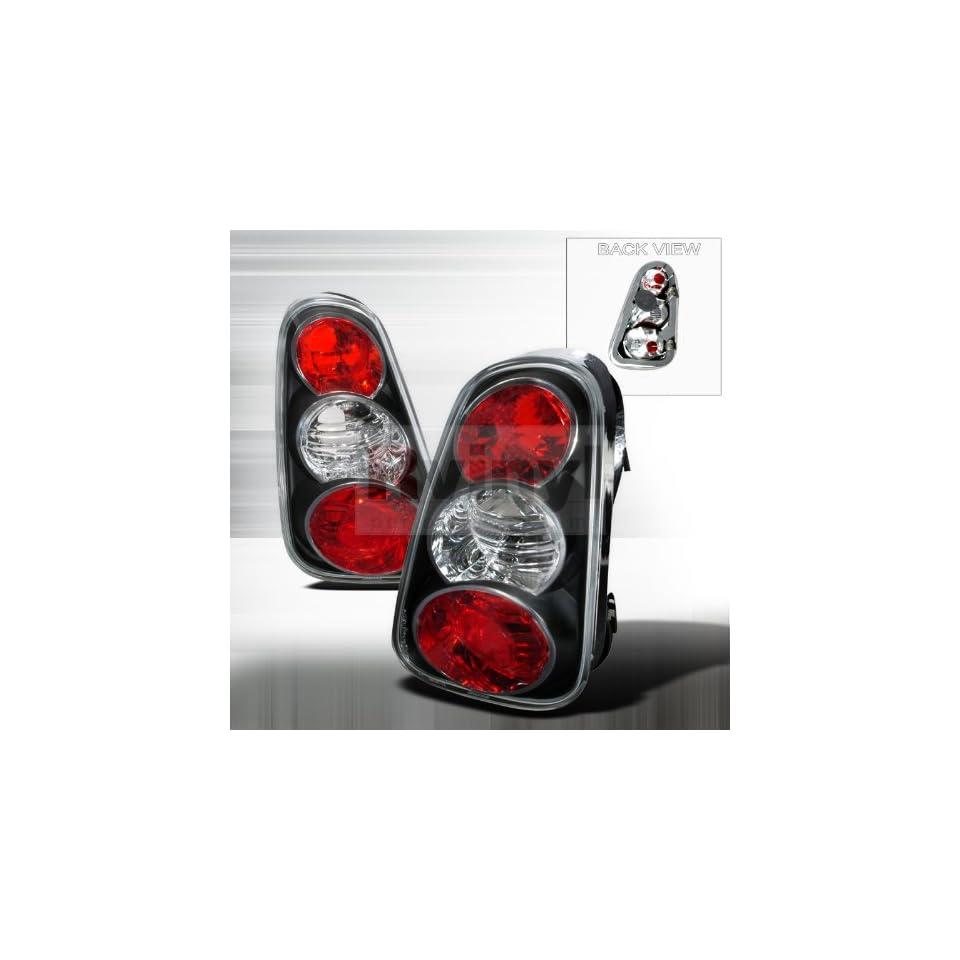 Spec D Tuning LT MINI01JM TM Mini Cooper Base/ Mini Cooper S Black Altezza Tail Lights