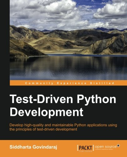 Book cover of Test Driven Python Development by Siddharta Govindaraj
