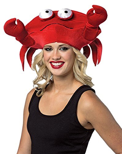 [Red Hat - Costume Accessory - Crab Hat] (Crab Costumes)