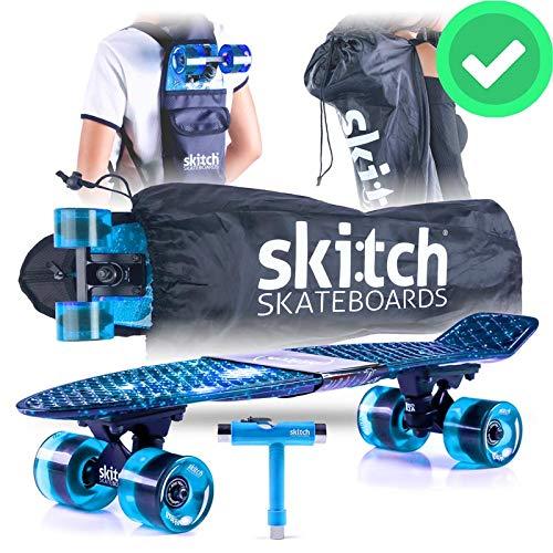 Skitch Premium Beginner Skateboard for Adults