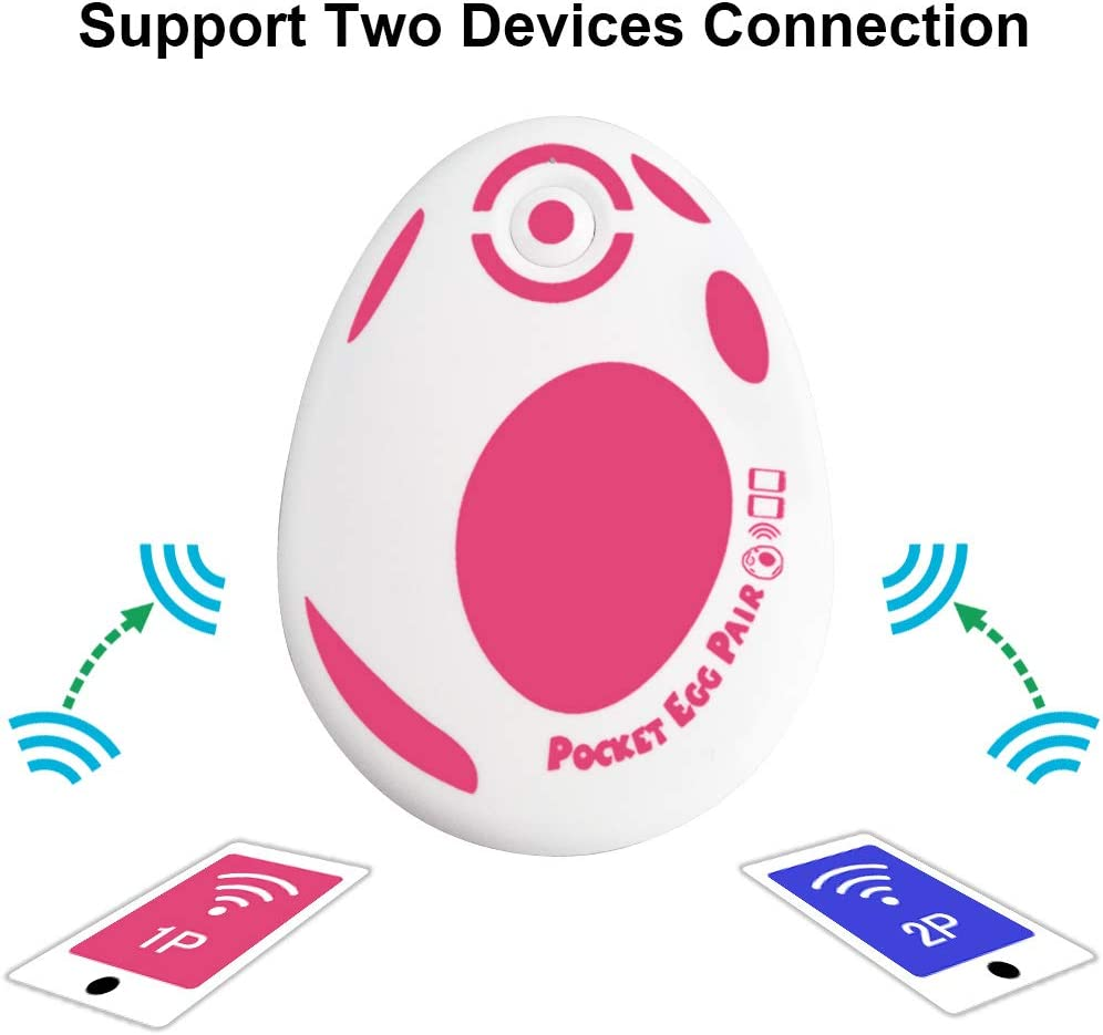 Available for 2 Pokemon GO ID Account GZW-Shop Pocket Egg Pair Auto Catch Accessory for Pok/émon Go Plus App 2019 Upgraded
