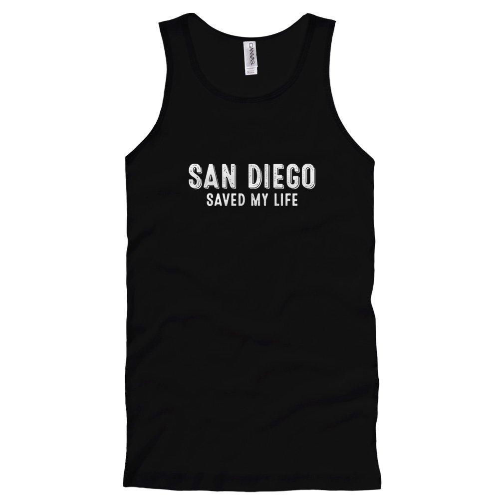 S San Diego Saved My Life Tank Top Shirts