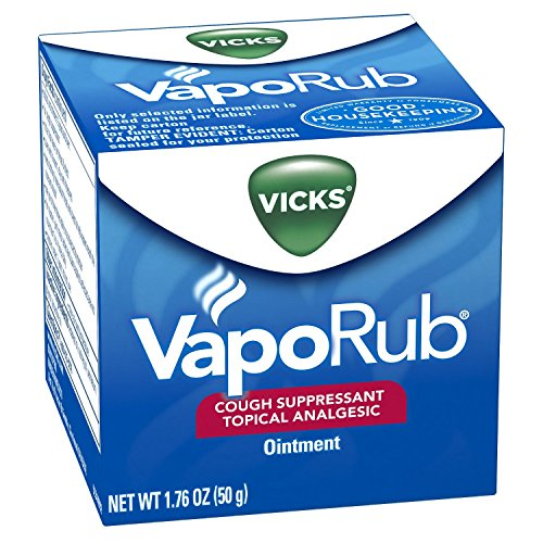 Vicks VapoRub Topical Ointment Chest Rub 1.76oz - (2 PACK) by Vicks
