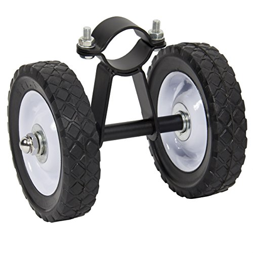 Best Choice Products Mobile Hammock Dolly Wheel Kit- Black by Best Choice Products