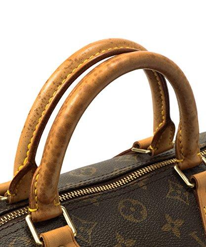 Authentic Women's Vintage Louis Vuitton Speedy 30 Brown Monogram Travel Bag by Louis Vuitton (Image #7)
