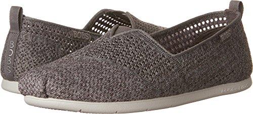 Skechers BOBS from Women's Plush Lite-Be Cool Flat, Gray/Multi, 8 M ()
