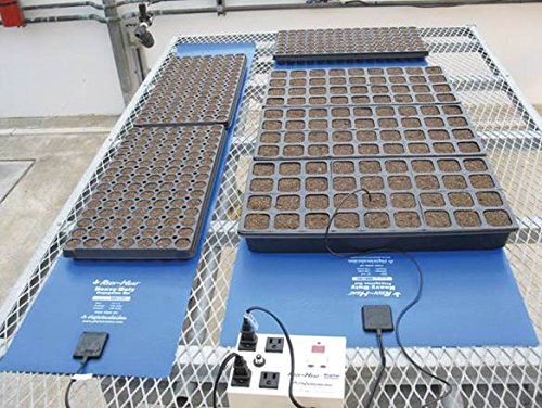 Solar Gem Greenhouse Redi-Heat propagation mats by Solar Gem Greenhouses