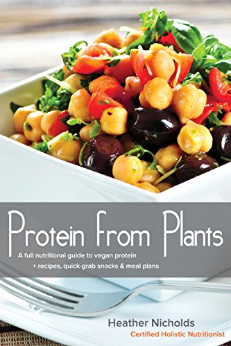Protein from Plants: A full nutritional guide to vegan protein + recipes, quick-grab snacks & meal plans