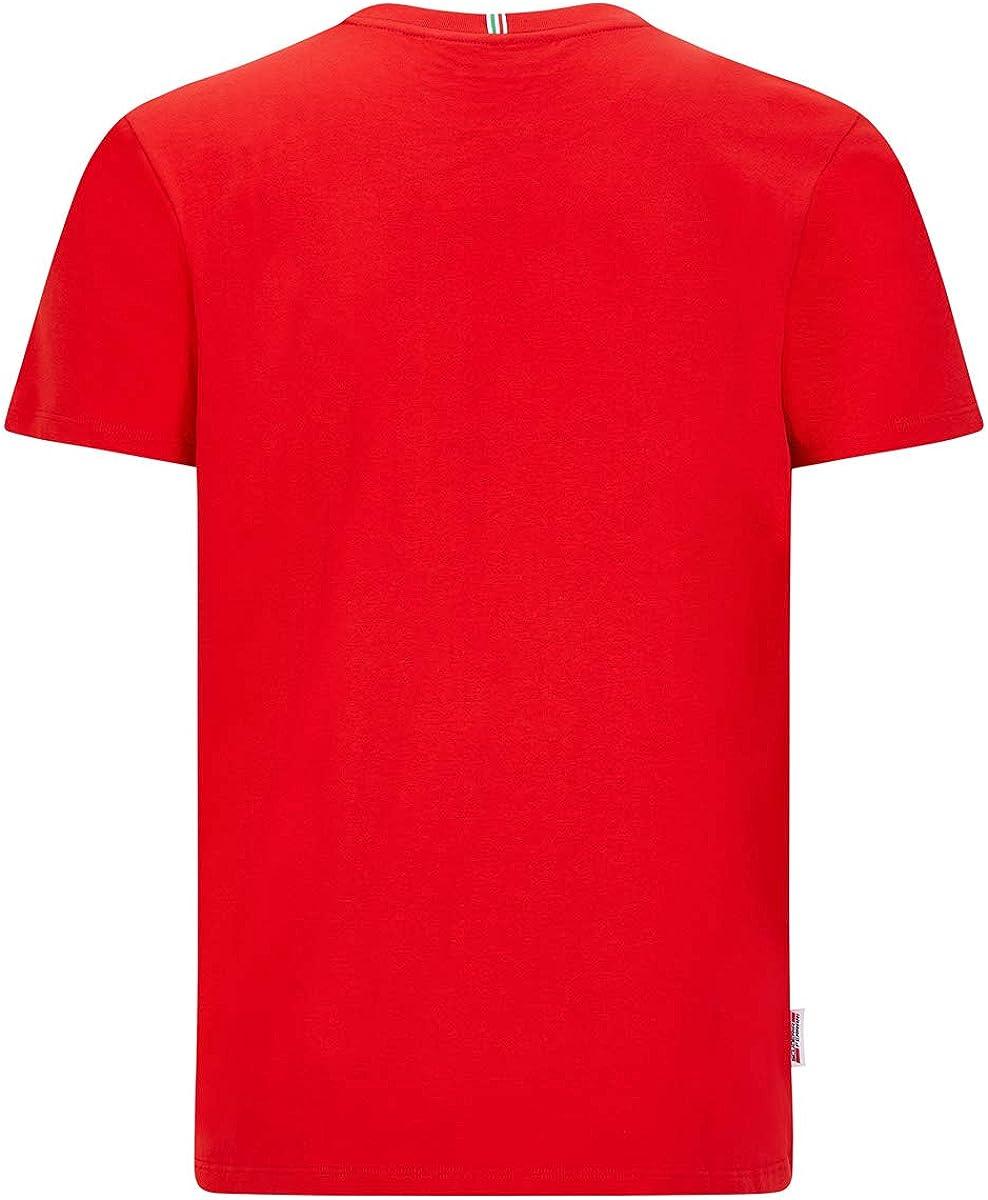Ferrari Scuderia F1 Large Shield T-Shirt Black//Red